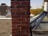 Parement de cheminée à réparer